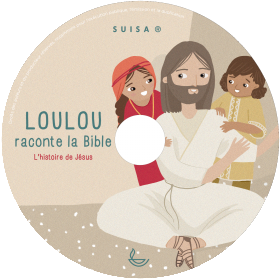 Loulou raconte la Bible - Tome 4 - CD